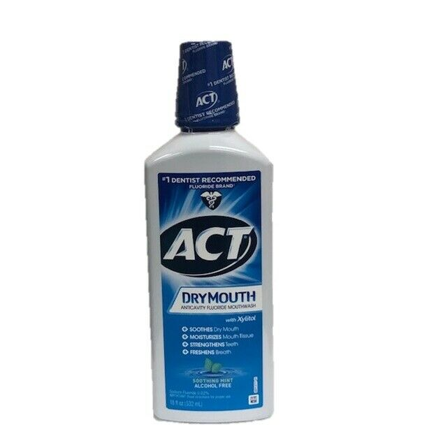 Act Mouthwash Dry Mouth >> ACT Total Care Dry Mouth Mouthwash, Mint, 18oz 041167096802T429 | eBay