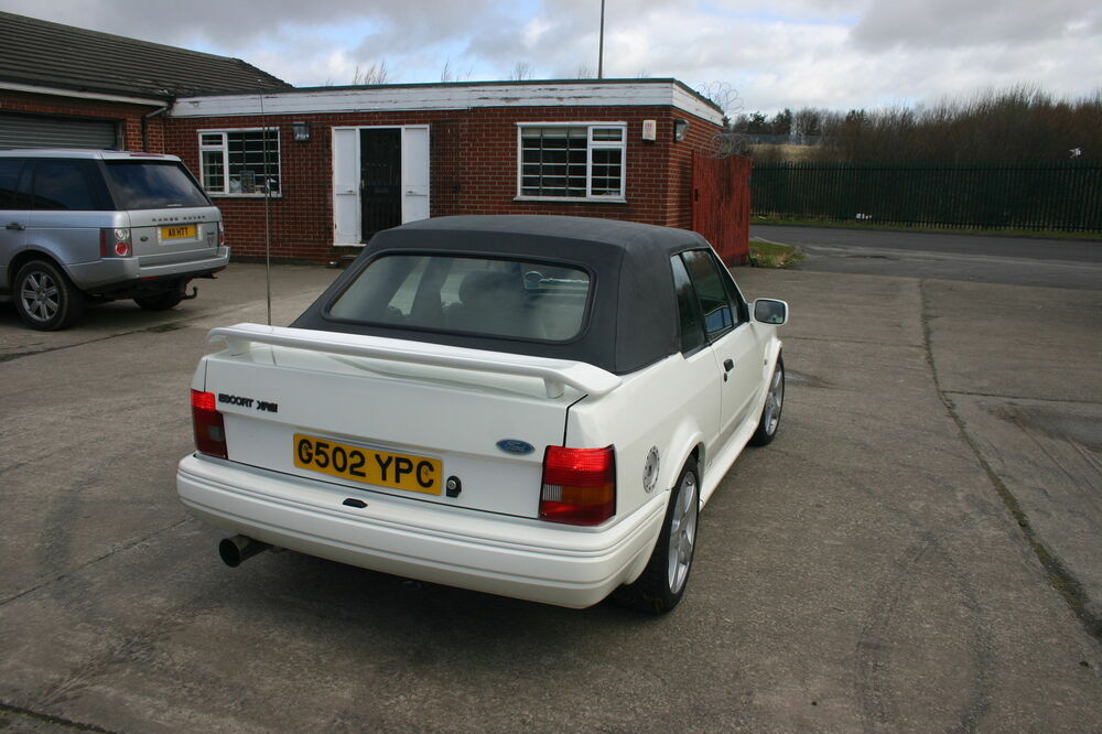 ford escort mk4 cabriolet cosworth spoiler 1985 1990 esc4ccsp brand new ebay. Black Bedroom Furniture Sets. Home Design Ideas