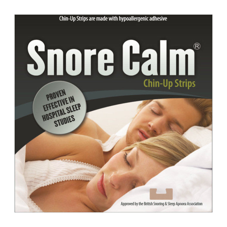 Snore calm chin up strips