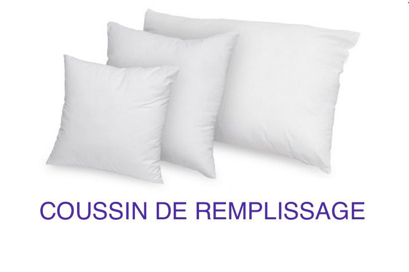coussin de remplissage coton 400gr coussin a recouvrir rembourrage extra ebay. Black Bedroom Furniture Sets. Home Design Ideas