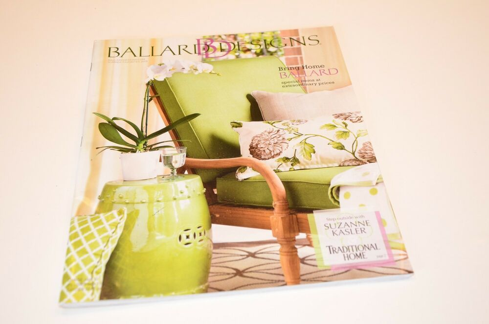 Ballard home decor furniture catalog with suzanne kasler ebay - Personeel decor catalogus ...