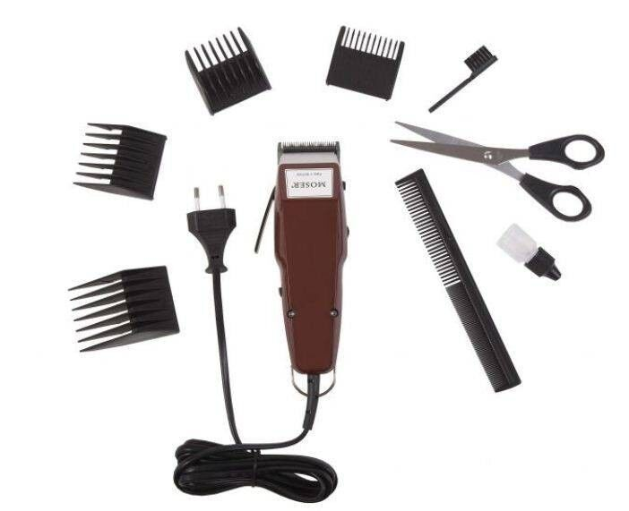moser 1400 plus professional hair clipper trimmer 4 combs scissors ebay. Black Bedroom Furniture Sets. Home Design Ideas