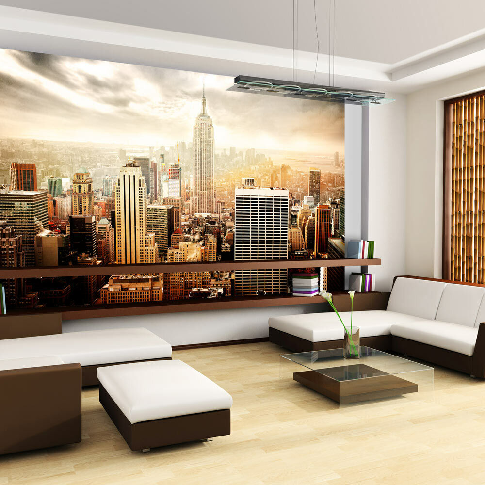 fototapete new york vlies tapete skyline wandbilder xxl. Black Bedroom Furniture Sets. Home Design Ideas