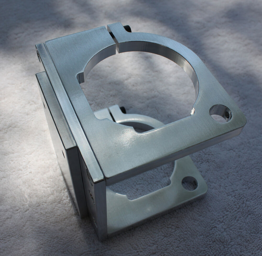 Designed To Order Router Spindle Mount For Ox Cnc Seen At