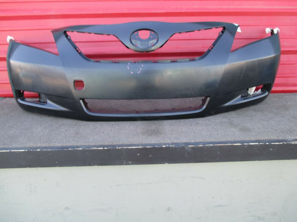 toyota camry front bumper cover oem 2007 2008 2009 original nb106 ebay. Black Bedroom Furniture Sets. Home Design Ideas