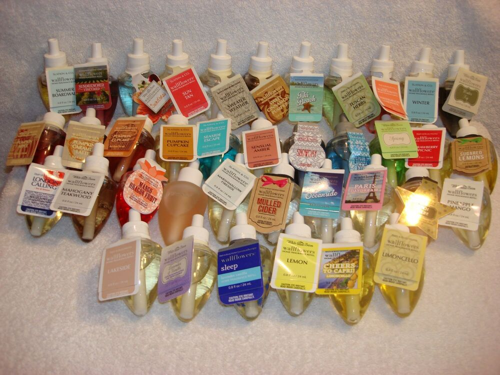 Bath body works wallflower refill bulb home fragrance for Bath and body works scents best seller