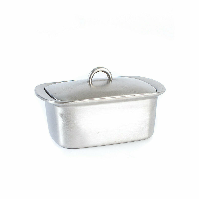 Lakeland Stainless Steel Insulated Butter Dish With Lid Ebay
