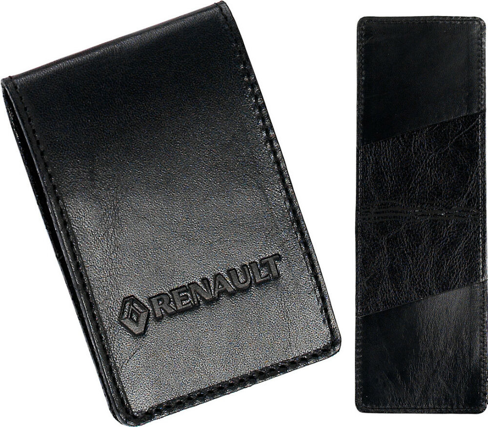 high quality renault leather key card case ebay. Black Bedroom Furniture Sets. Home Design Ideas
