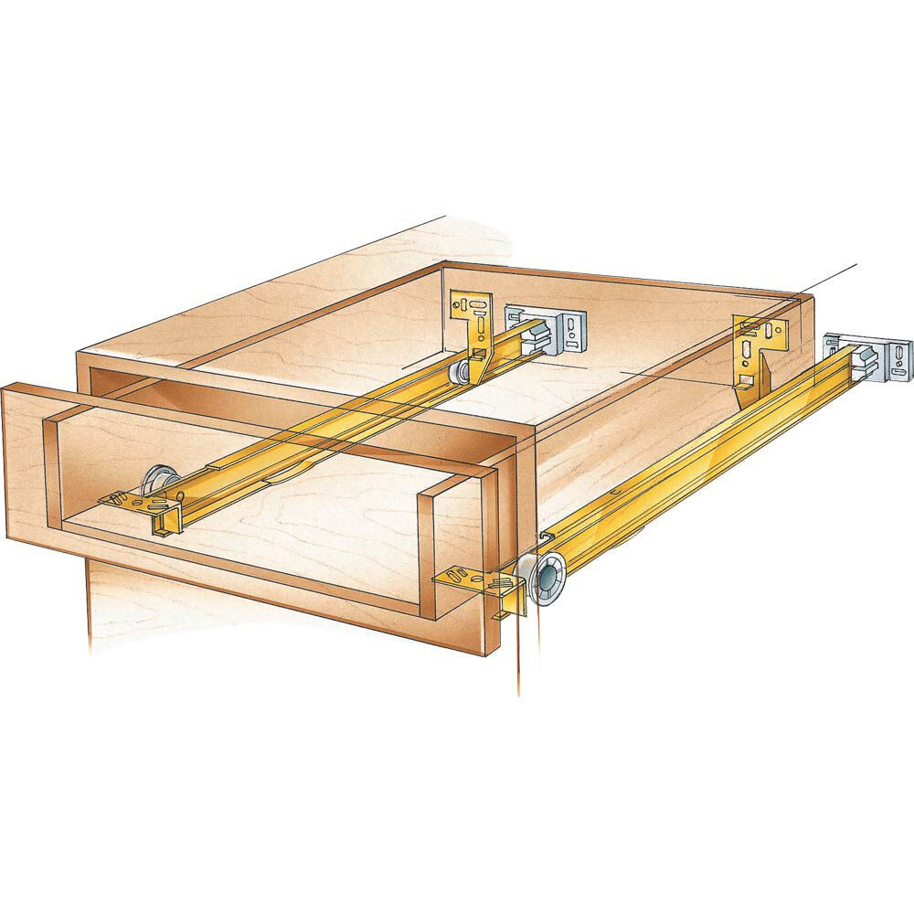 Suspension drawer slide ebay