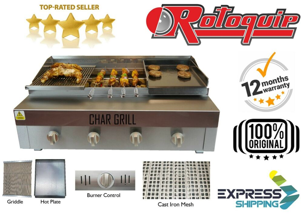 Griddle Plate For Gas Grill ~ Chargrill with griddle hot plate natural gas or lpg