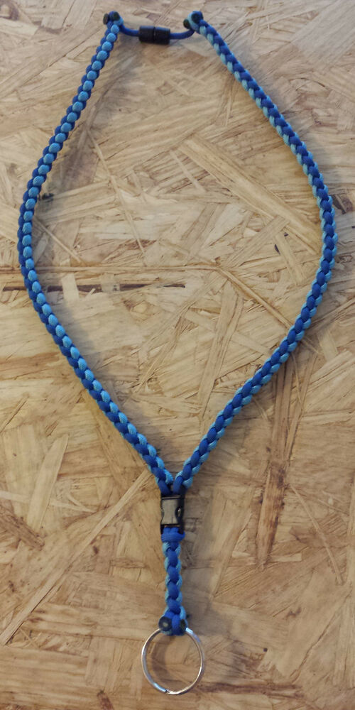 kc royals paracord lanyard necklace keychain ebay