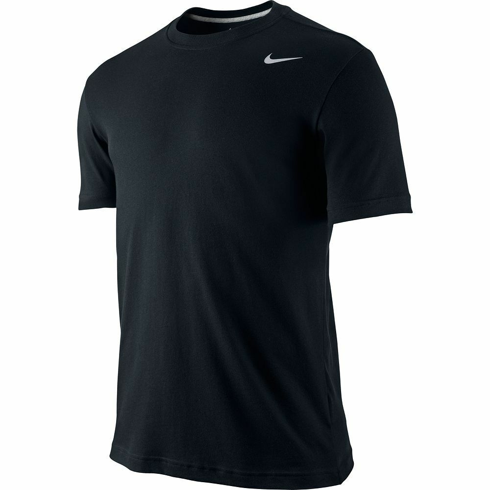 Nike 407997 010 Men 39 S Dri Fit Cotton Tee T Shirt Black