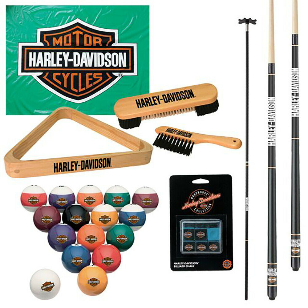 Harley Davidson Billiard Starter Kit