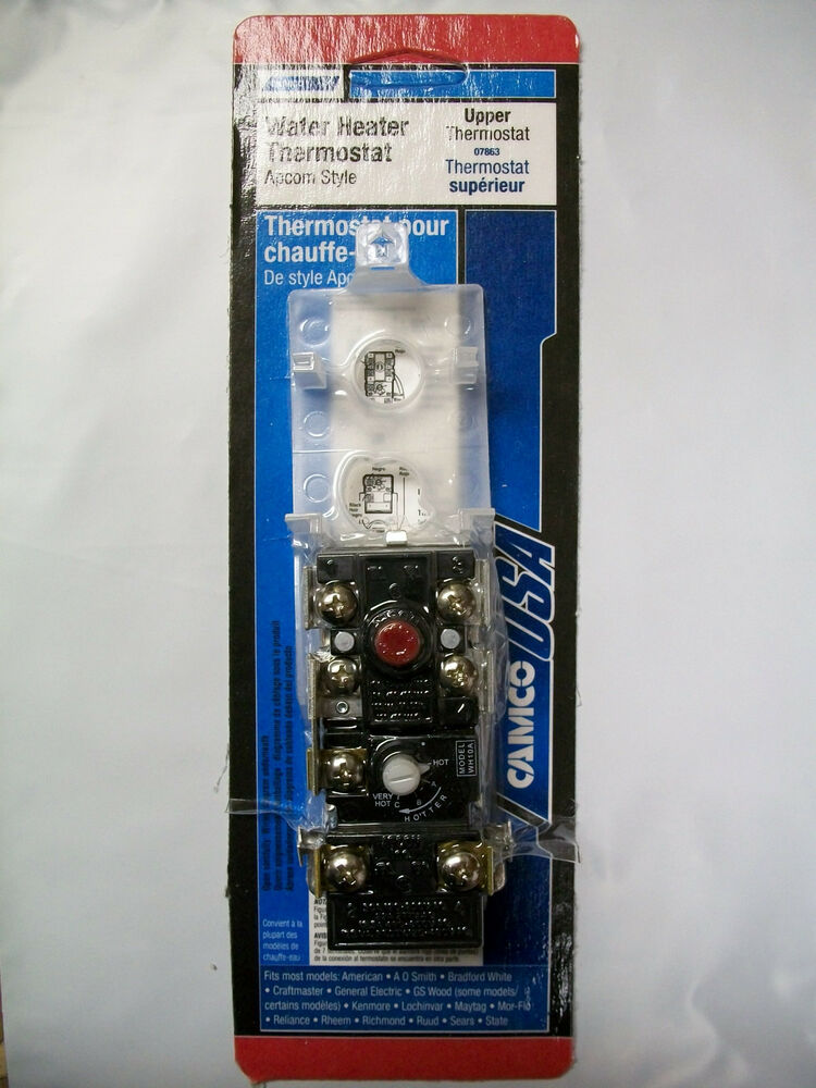Water Heater Upper Thermostat Apcom Style Camco 07863 Ebay