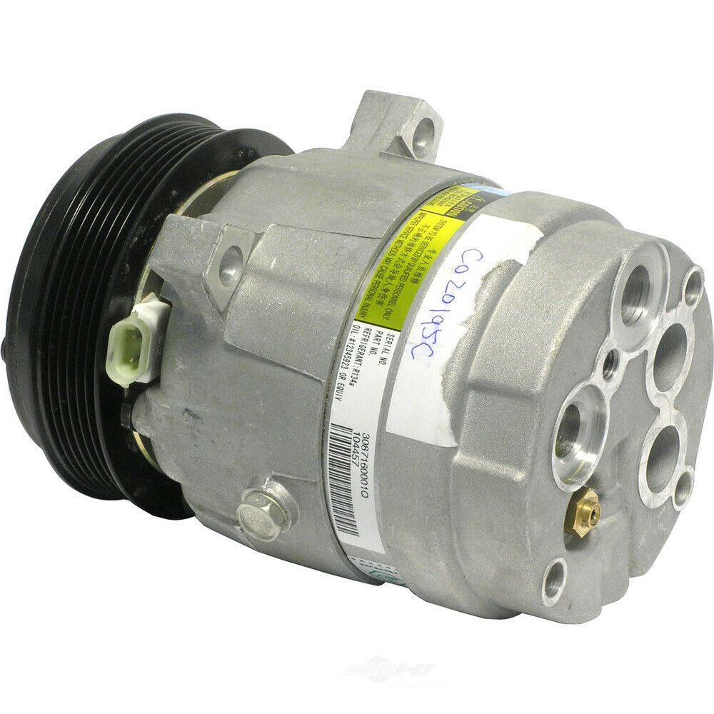 Brand New A  C Ac Compressor With Clutch Air Conditioning Pump 1 Year Warranty