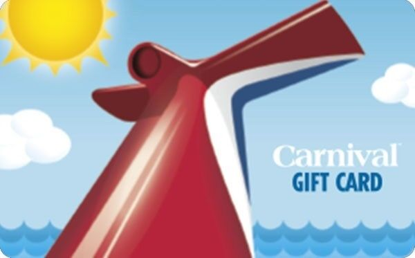Carnival gift card promotion