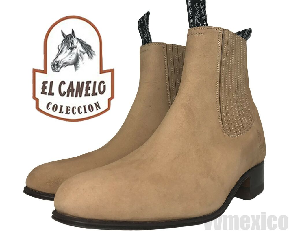 NEW EL CANELO HALF BOOTS ANKLE BOOTS WESTERN WEAR **ALL SIZES botin de  charro | eBay