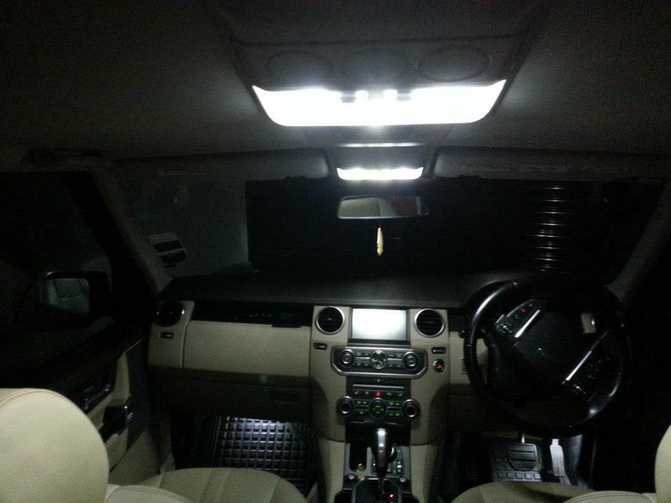 Land Rover Discovery 3 Lr3 Led Xenon White Interior Lights