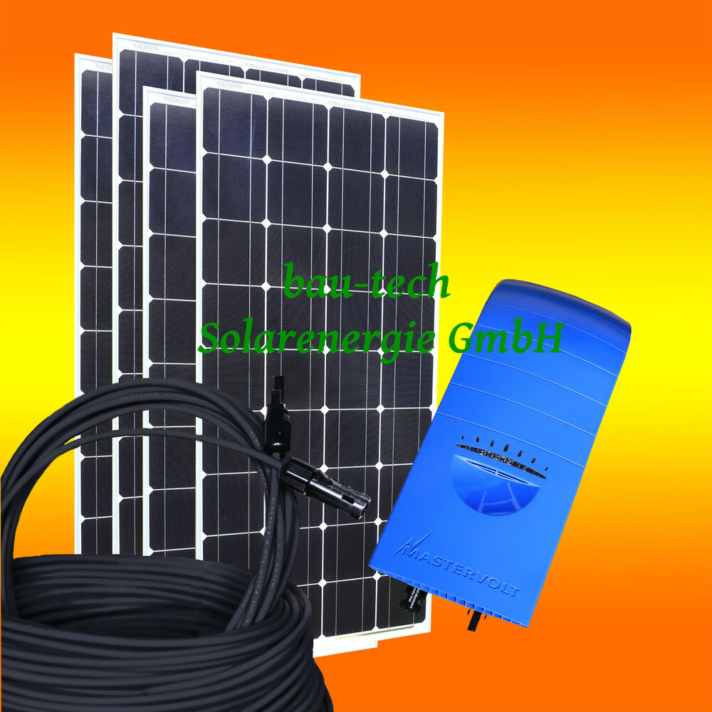520watt pv solaranlage komplett set zur hausnetzeinspeisung f r die steckdose ebay. Black Bedroom Furniture Sets. Home Design Ideas