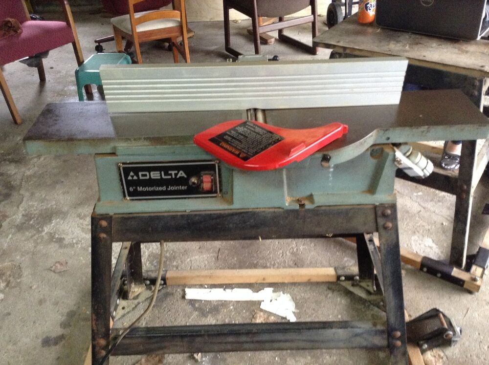 "Delta 6"" Motorized Jointer 37-280 
