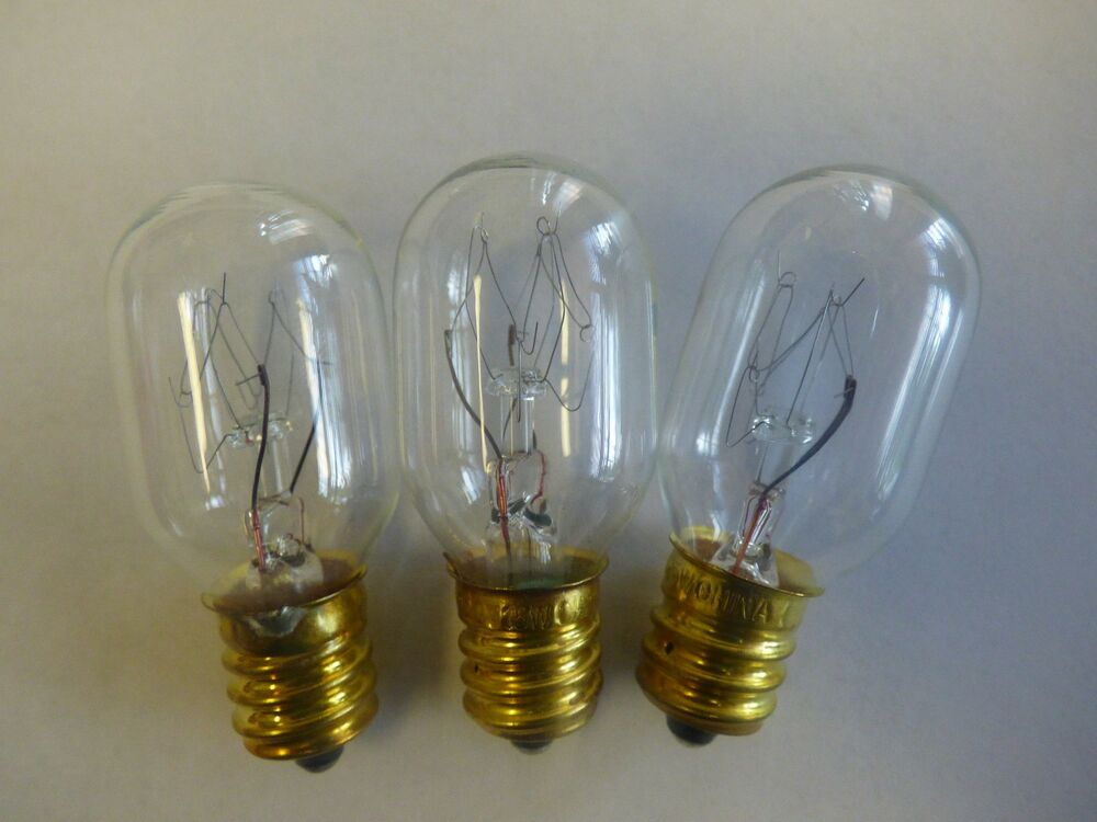 15 watt REPLACEMENT Bulbs Fits wall PLUG-IN Scentsy ...