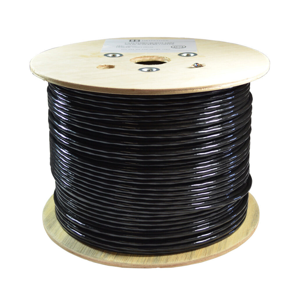 CAT6 1000FT DIRECT BURIAL 100% COPPER ETHERNET CABLE 23AWG ...