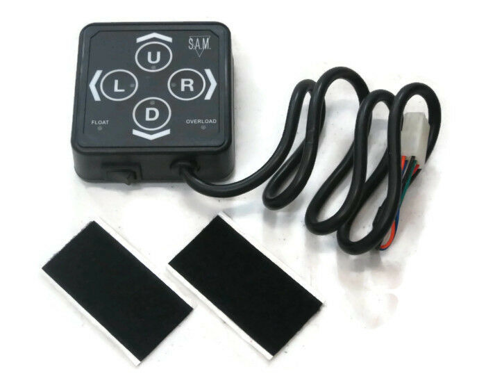 new snow plow touch pad control   controller meyer diamond