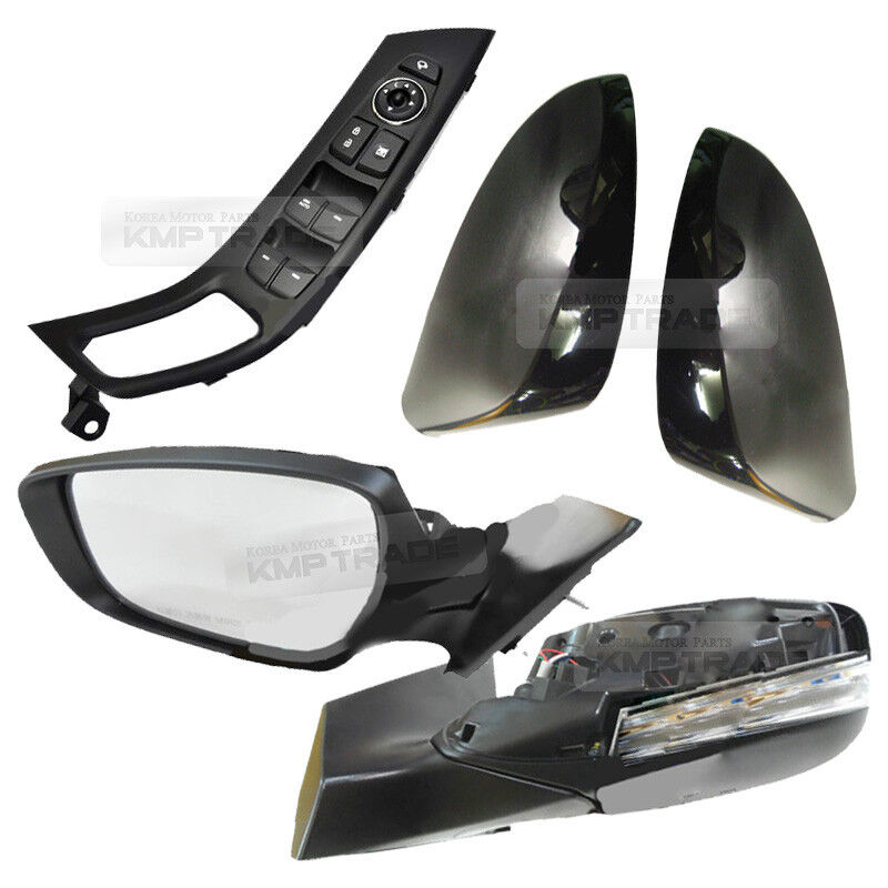 Oem Side Mirror Cover Side View Folding Switch Set For