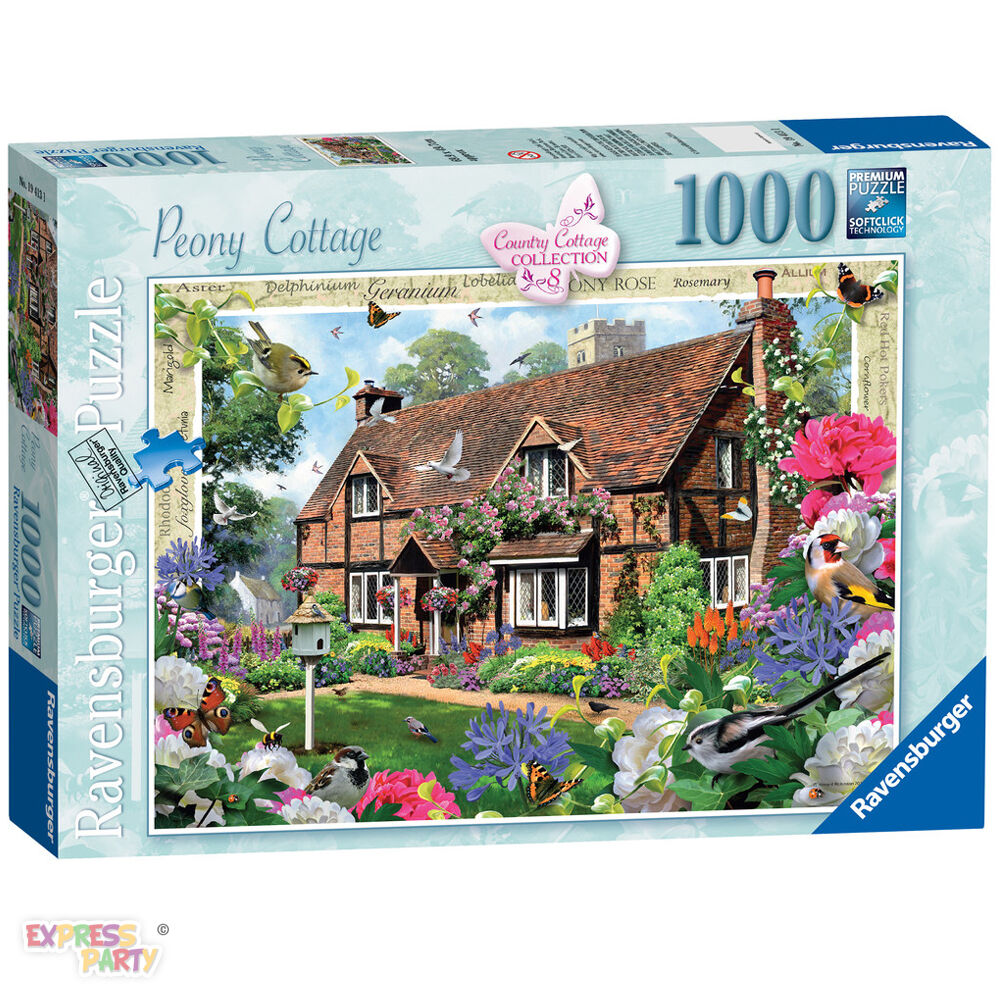 country cottage collection peony cottage 1000 piece