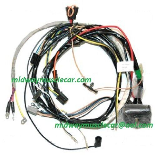 chevy 454 wiring harness
