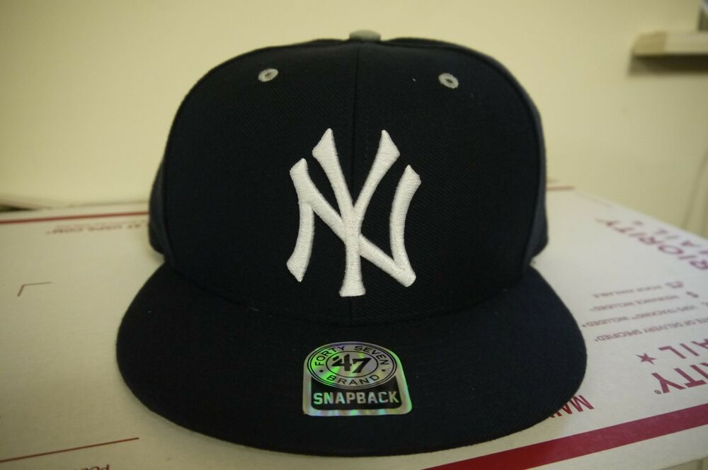 444560d33c7 Details about Authentic New York Yankees Oath Snapback Adjustable cap by 47  Brand-Navy