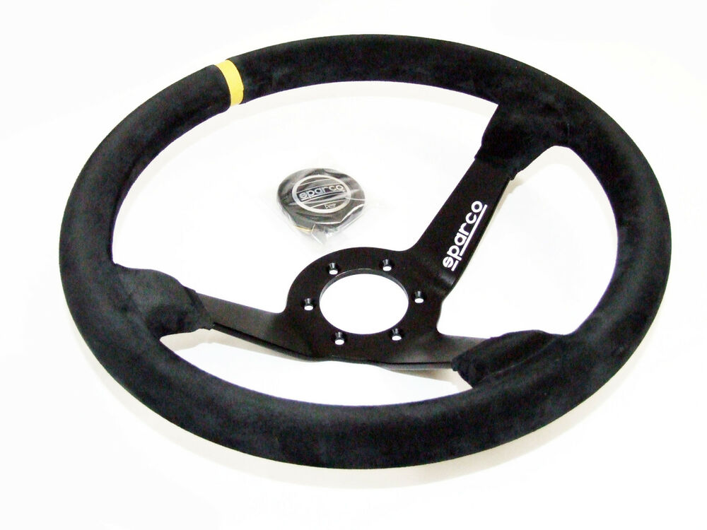 S And L Motors >> Sparco Steering Wheel - R325 (350mm/95mm Dish/Suede) 13117015935   eBay
