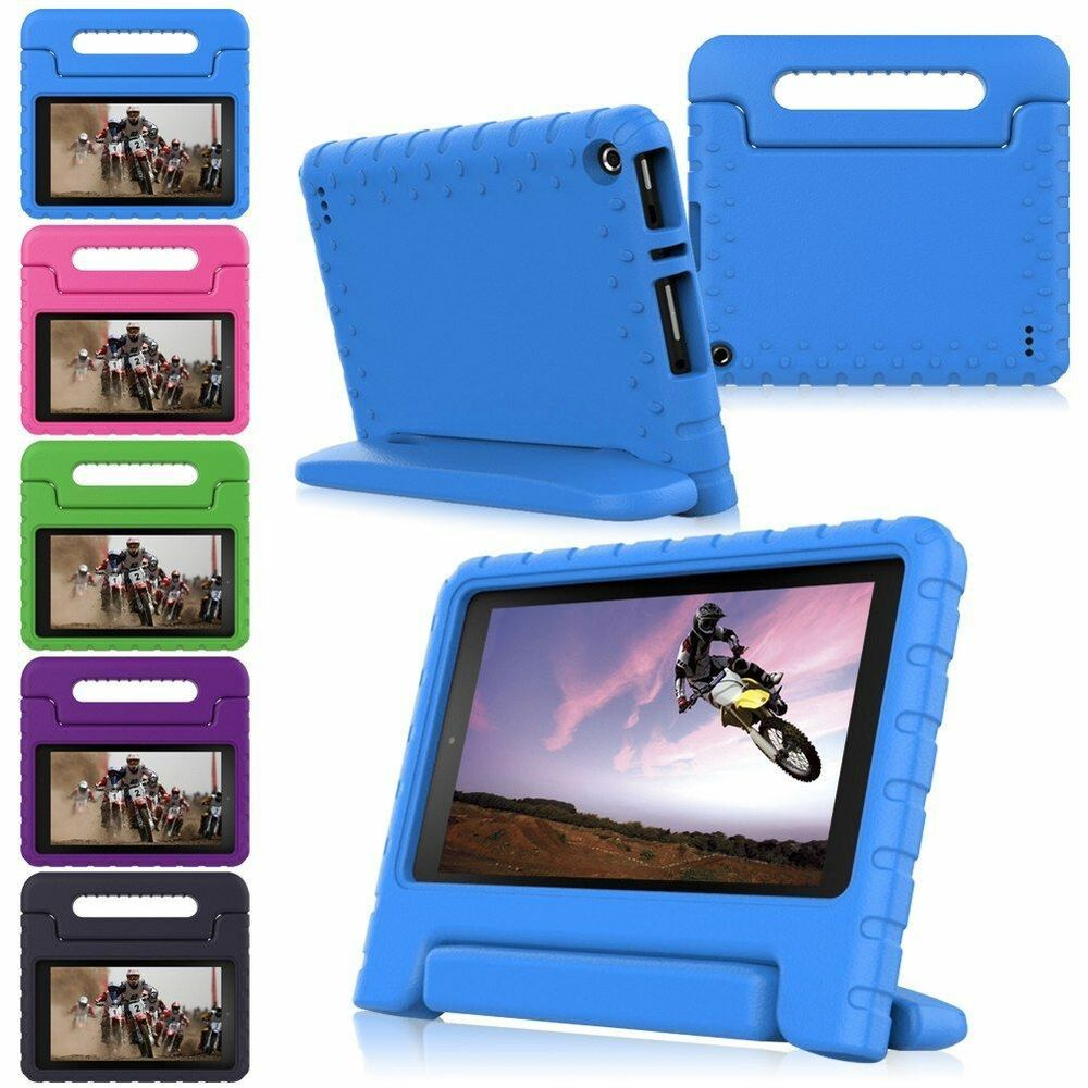 Kids shockproof foam handle protect case cover for amazon for Amazon casa