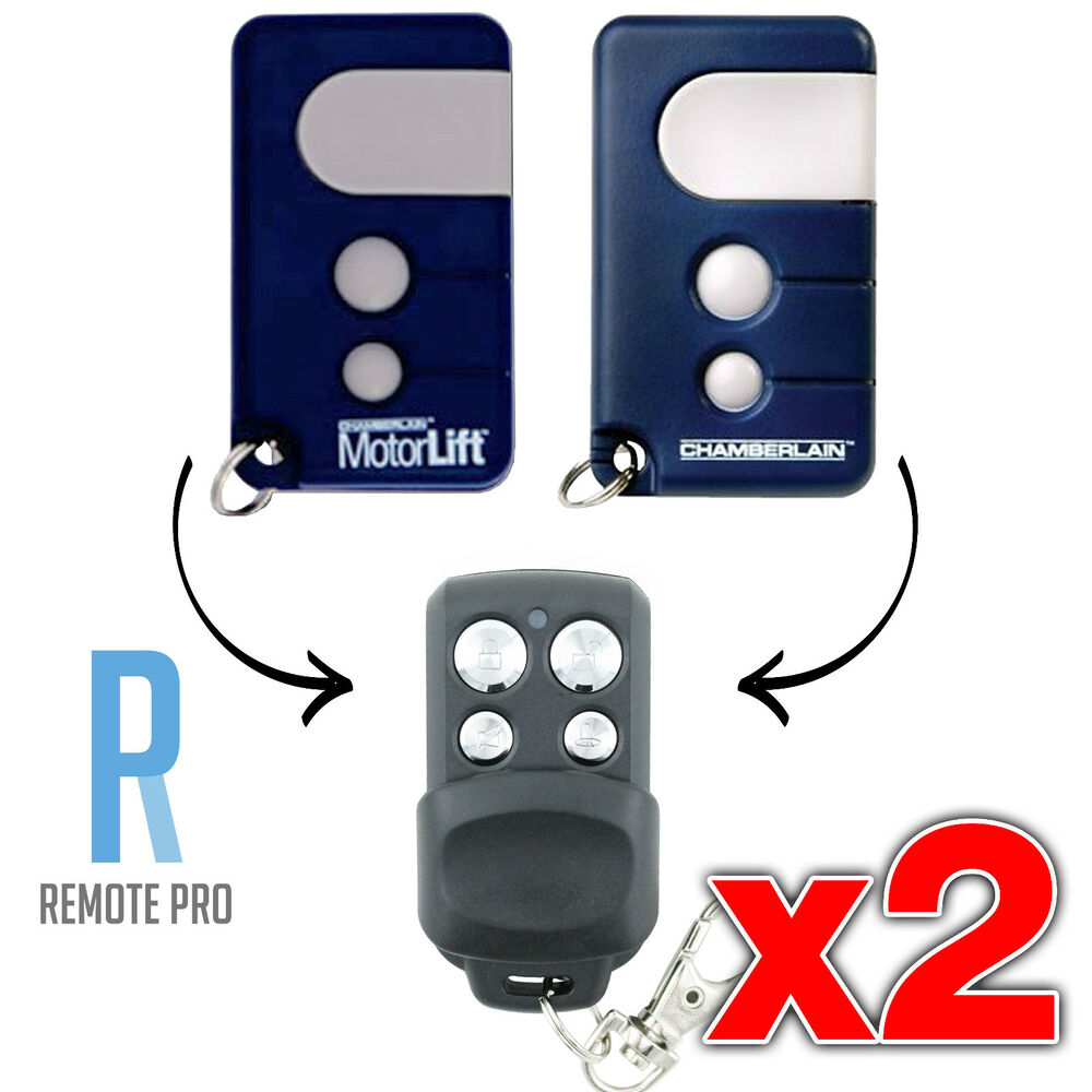 2 x chamberlain motorlift 84335 aml gate garage replacement remote cr550 ml mlr ebay. Black Bedroom Furniture Sets. Home Design Ideas