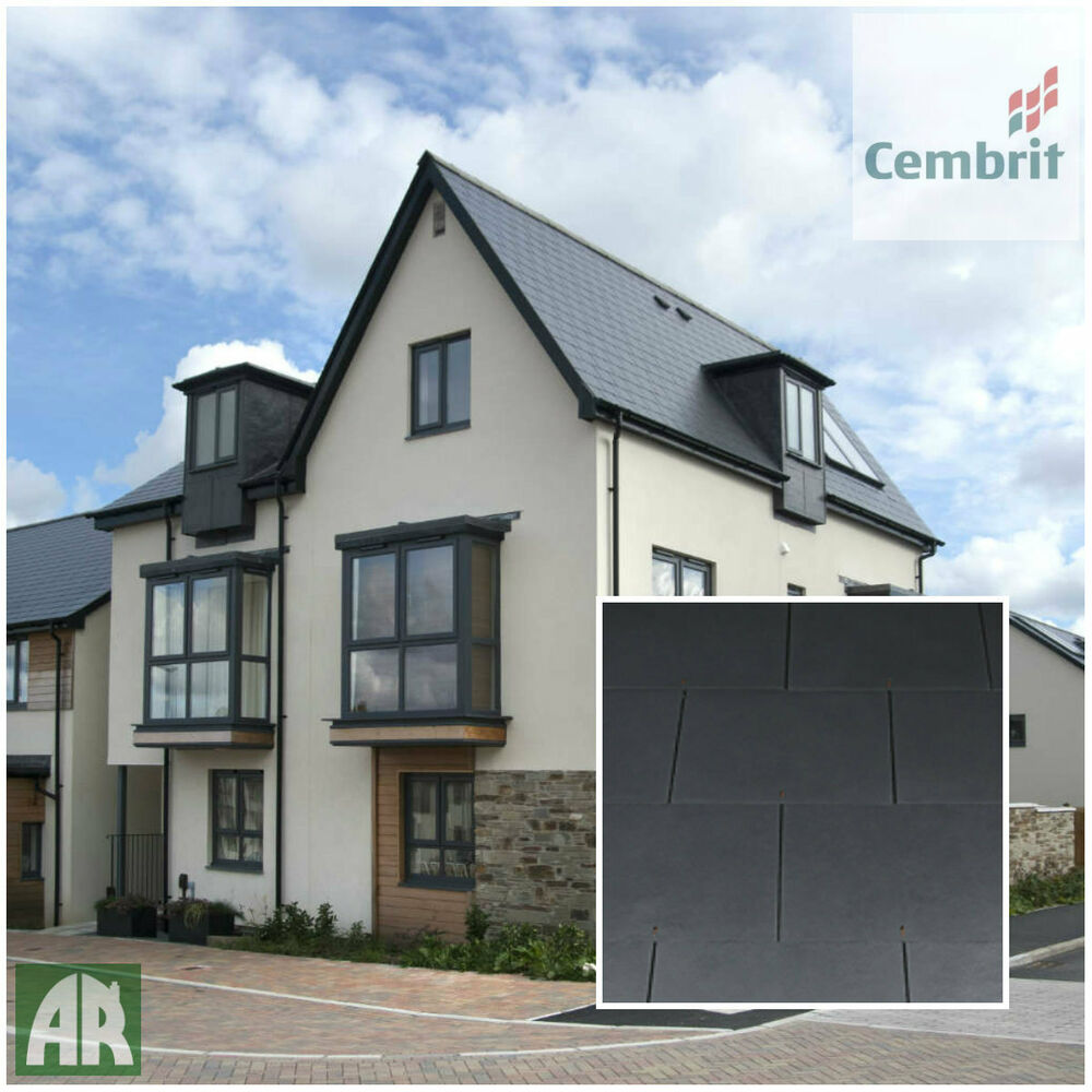 Cembrit Jutland Fibre Cement Roof Slates