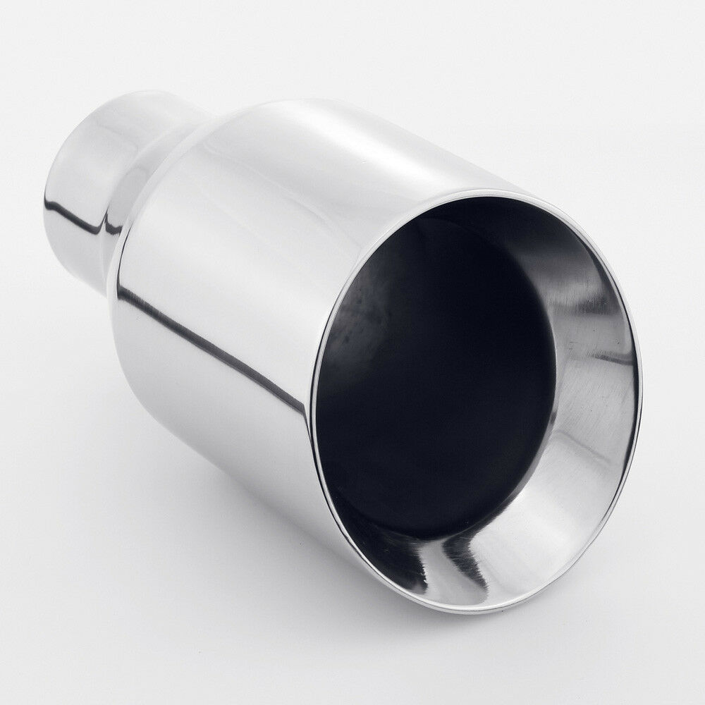 2.5 inch Inlet Universal Remuse Car Exhaust Tips 304