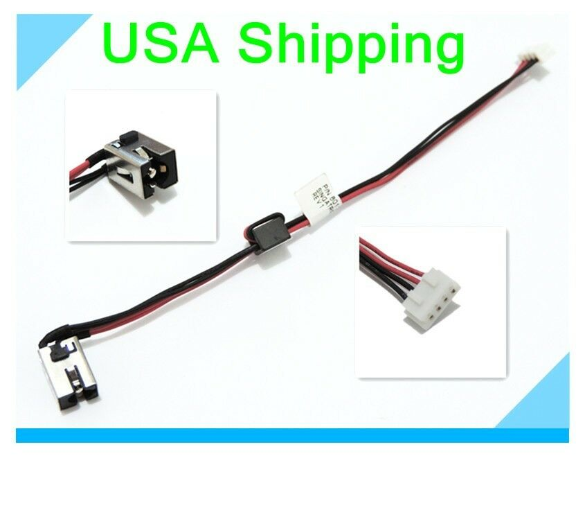 original dc power jack plug in cable for toshiba satellite Split System Heat Pump Wiring Diagram s l1000