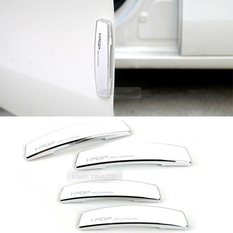 Simple edge door guard bumper protector white color for for Simple edge