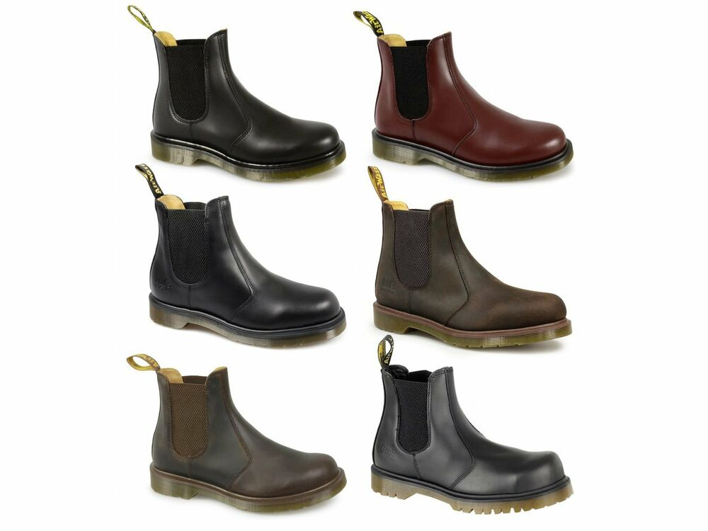 dr martens mens womens ladies classic airwair safety casual dealer chelsea boots ebay. Black Bedroom Furniture Sets. Home Design Ideas