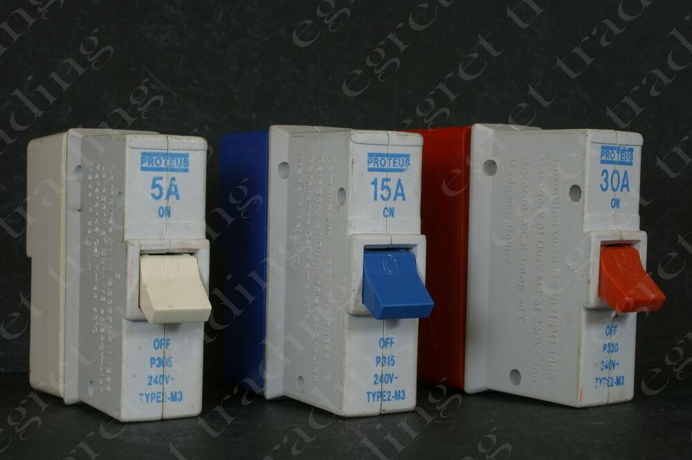 s l1000 proteus mcb circuit breakers ebay proteus fuse box at eliteediting.co