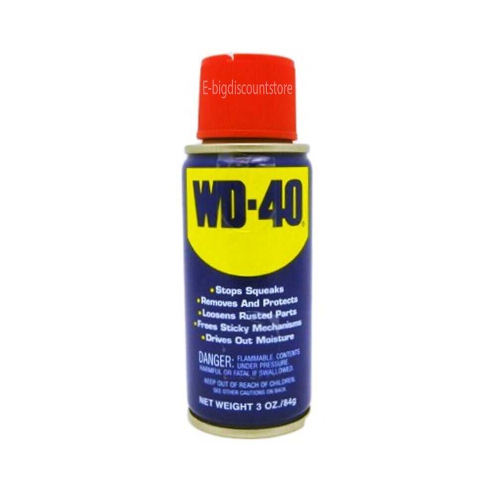 Wd 40 two ways spray lubricant aerosol can 3 oz multi use new ebay - New uses for the multifunctional spray ...