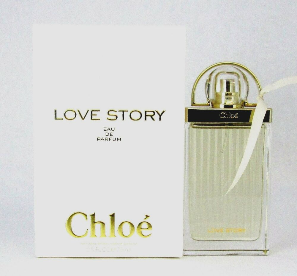 chloe love story eau de parfum spray 2 5 oz 75 ml brand new sealed box ebay. Black Bedroom Furniture Sets. Home Design Ideas