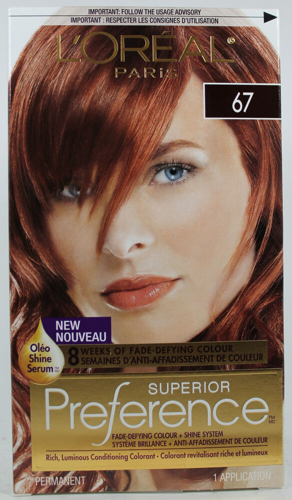 L39Oreal Red Richesse Excellence Crme Hair Color Light Of ...