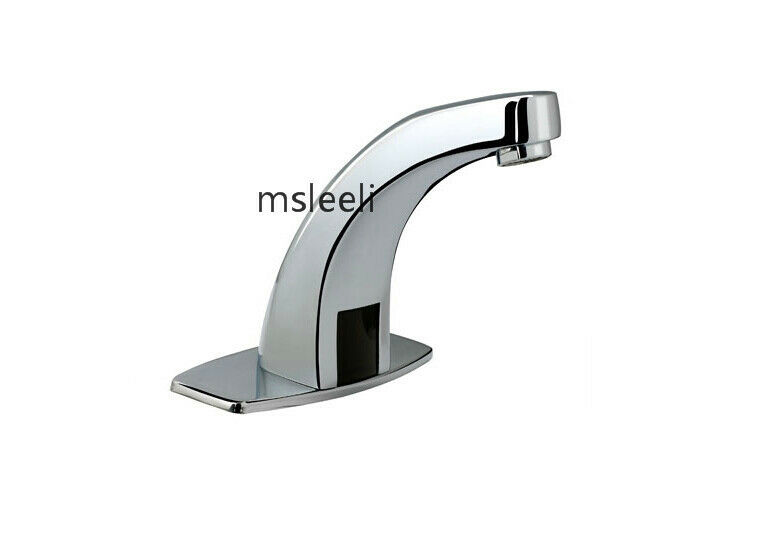 Sensor Activated Faucet Touchless Bathroom Sink Faucet Hands Free Tap EBay