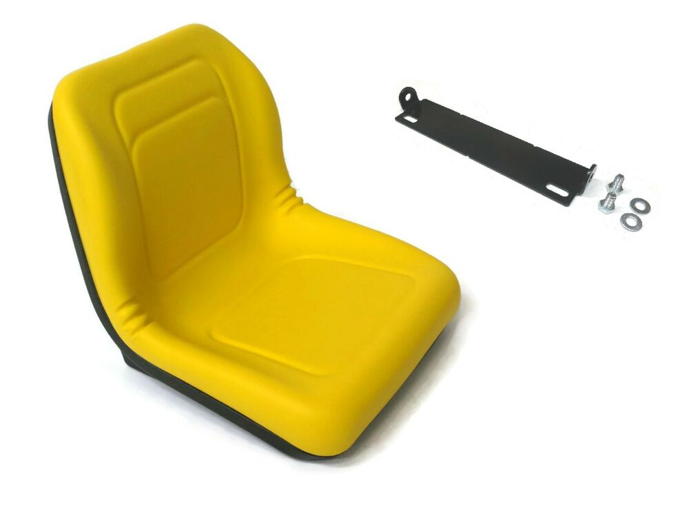 John Deere 445 Tractor Seats Replacement : High back seat w pivot rod bracket john deere