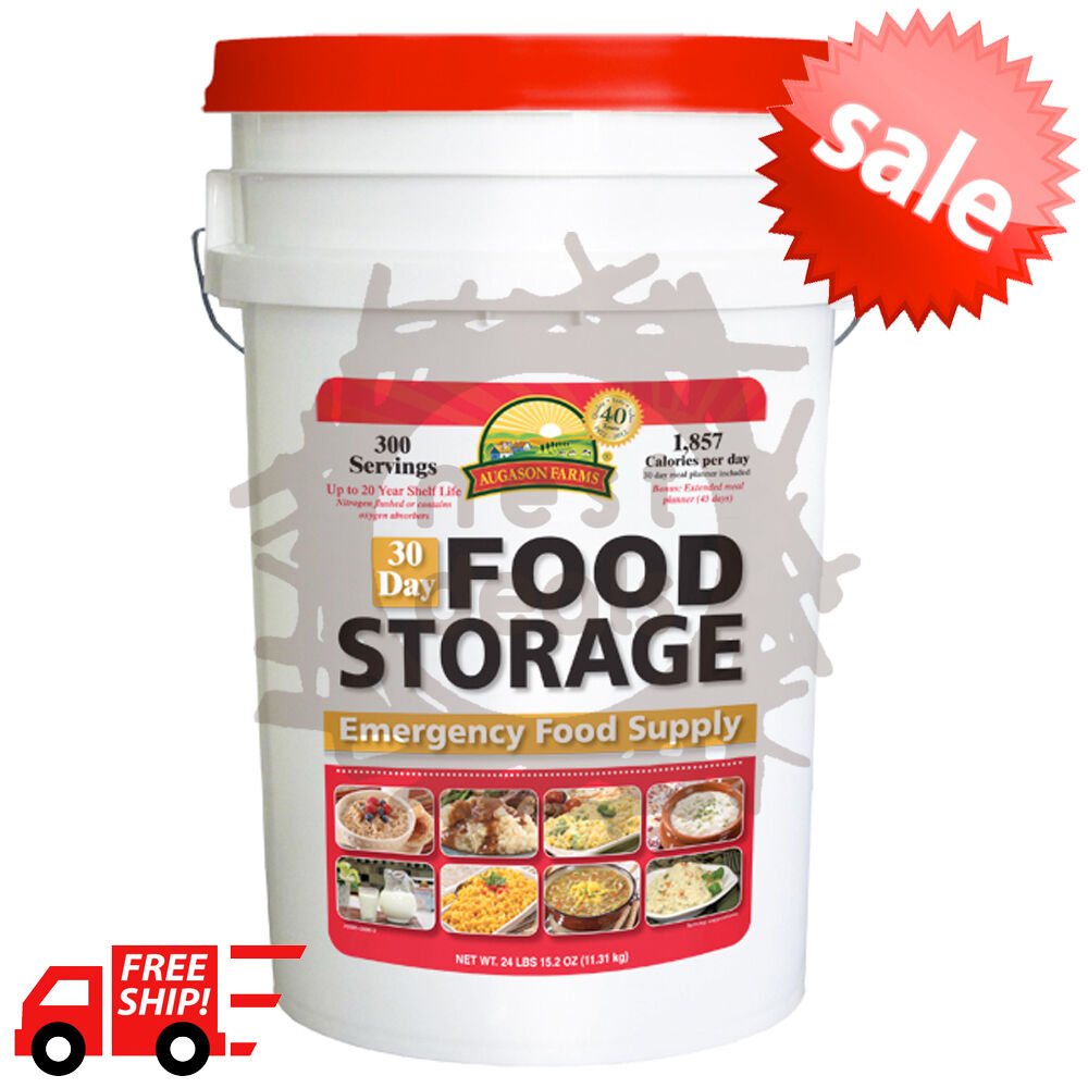 Survival Food Storage List