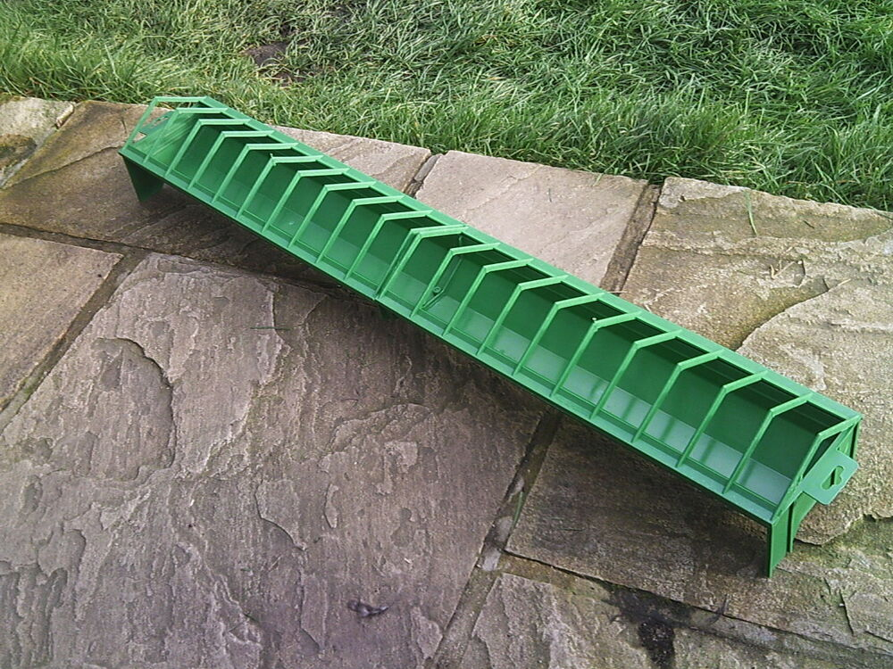 Extra large trough feeder cm chicken quail poultry ebay