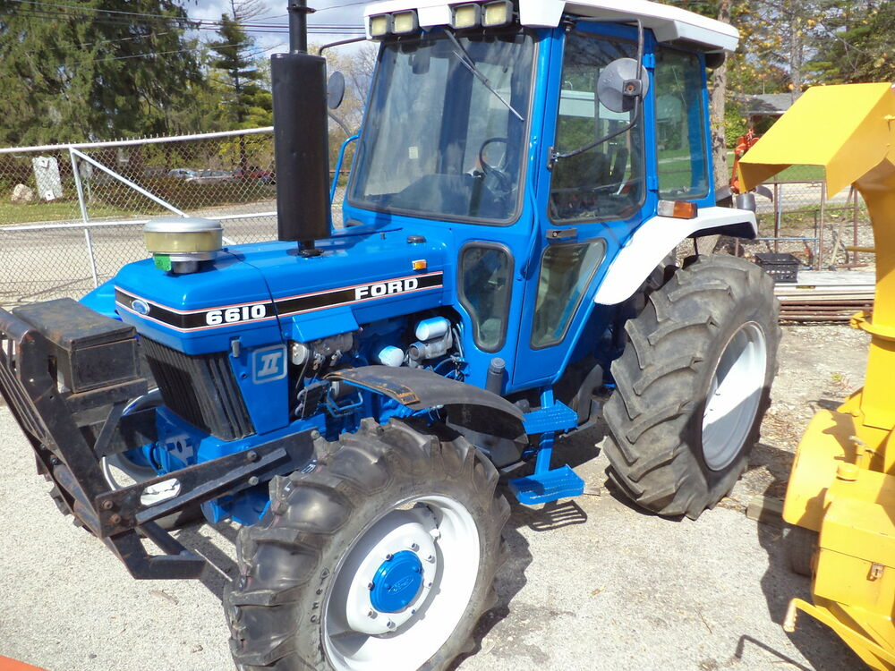 New Holland Tractor People : Ford tractor diesel drive cab air pto three