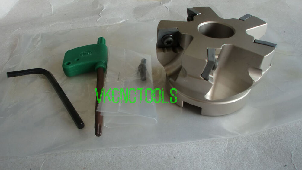 Right Angle Cutter : Dia mm right angle indexable face mill cutter for
