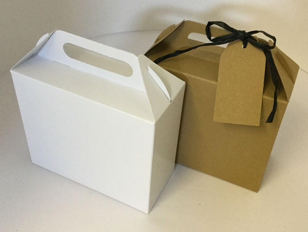 Wedding Gift Card Box Uk : Eco Kraft Card carry Boxes, Gift or Wedding Favour Boxes CHECK ...